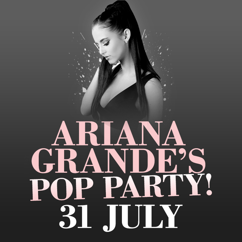 Arianna Grande Summer Holiday Pop Party Tribute