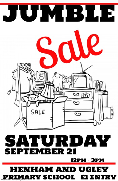 Henham jumble sale