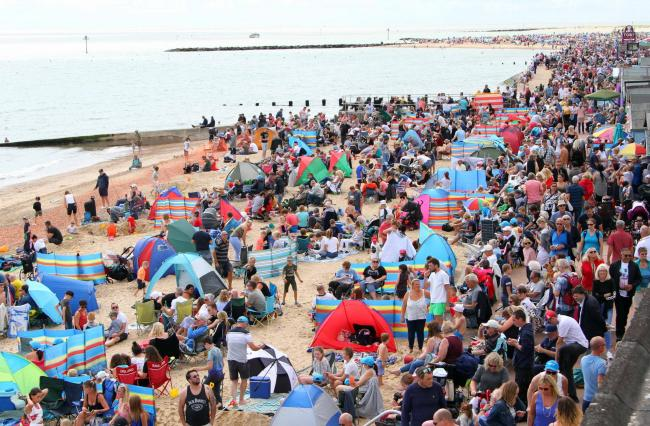 Huge crowds expected at Clacton Airshow thanks to good weather