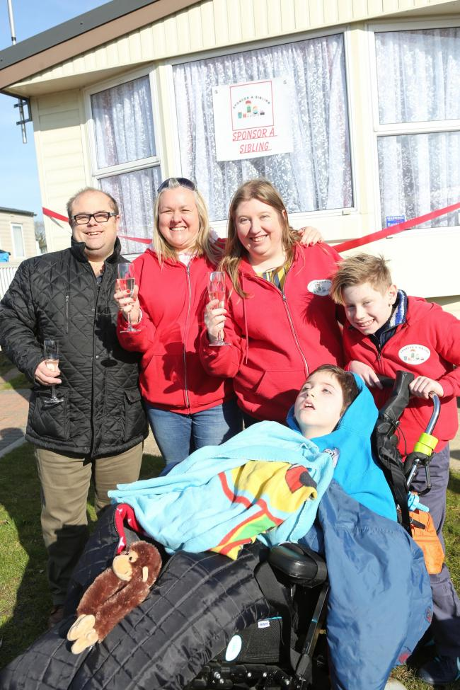 Siblings of Love - the sponsor a sibling charity started by the parents of seriously ill and disabled Harry - are opening their first holiday caravan for families with disabled children and their siblings as well as bereaved siblings. highfield grange car
