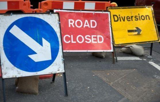 Part of the road will be closed