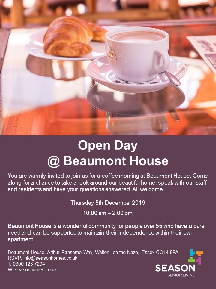 Open day/ Coffee Morning
