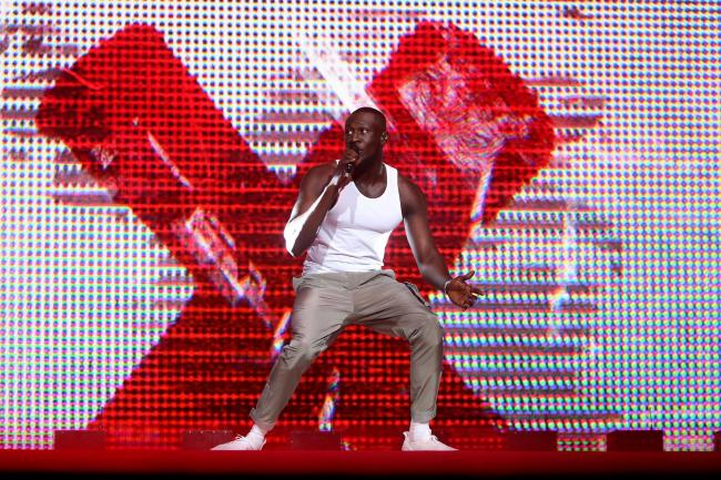 Stormzy at Capital's Jingle Bell Ball