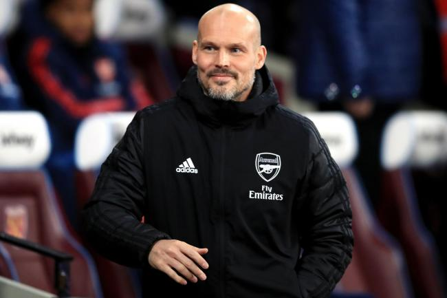 Freddie Ljungberg is in temporary charge of Arsenal