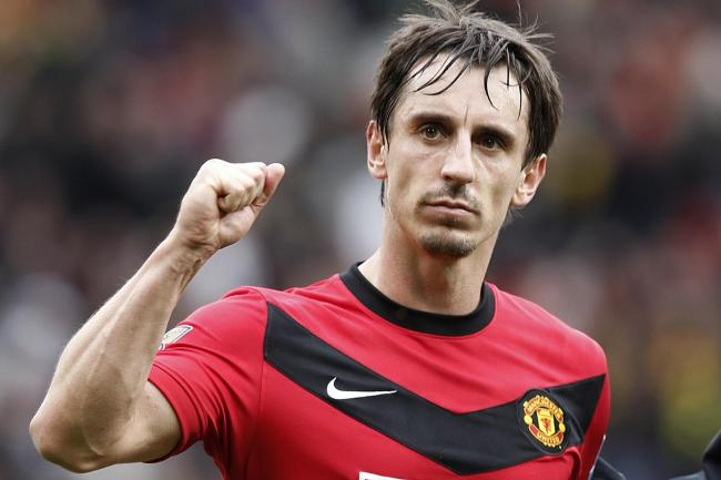 Gary Neville had a glittering career at United