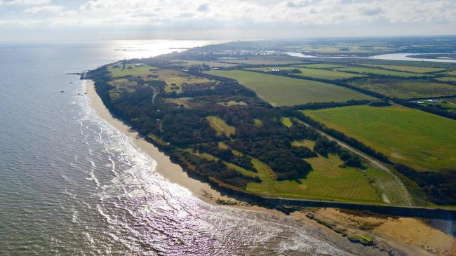 PUBLIC CONSULTATION: The Naze at Walton, which edges onto Hamford Water. Picture: Matt Cattermole