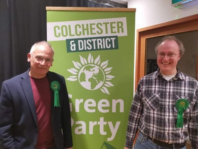 Green Party - Peter Banks and Mark Goacher