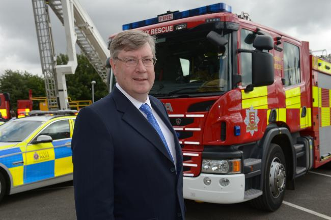 Police, Fire and Crime Commissioner Roger Hirst