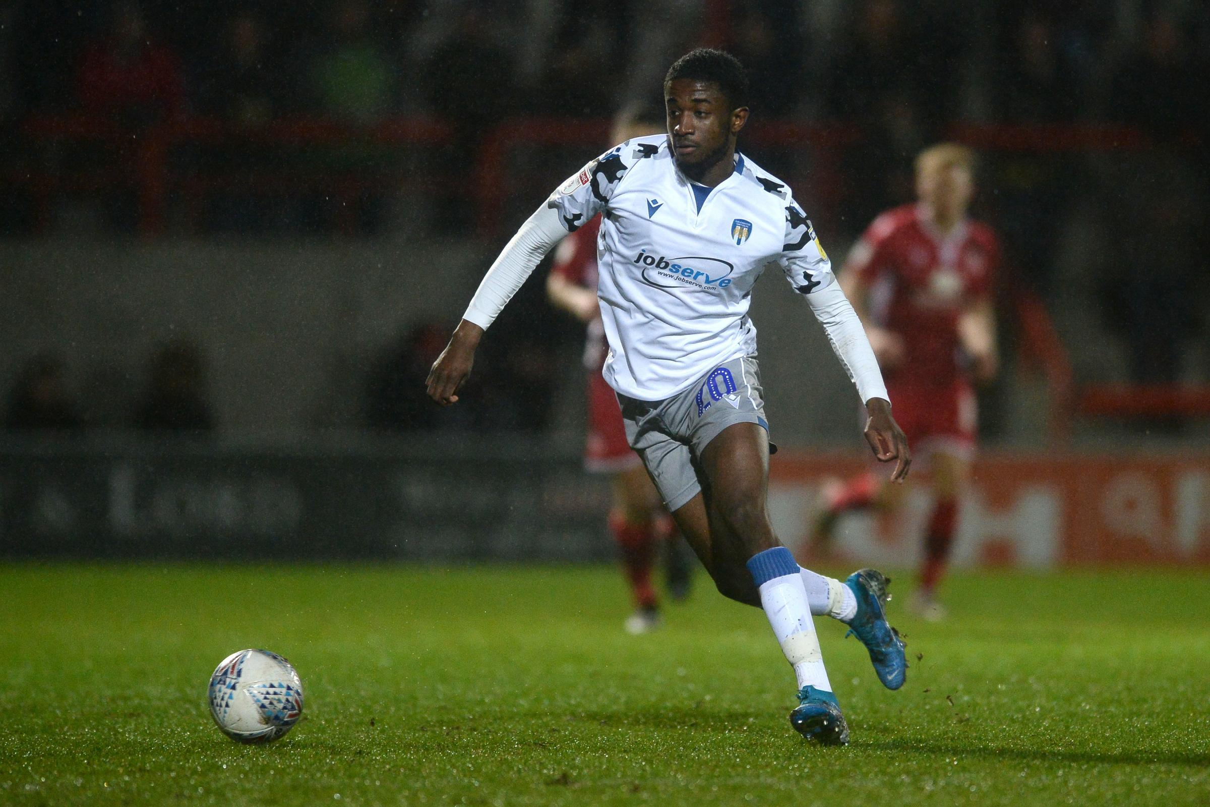 Junior Ogedi-Uzokwe leaves Colchester United | Harwich and ...