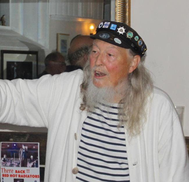 SEA SHANTY: Alan Whitbread died on March 5.