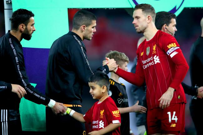 Jordan Henderson played a key role, according to Wolves' Conor Coady