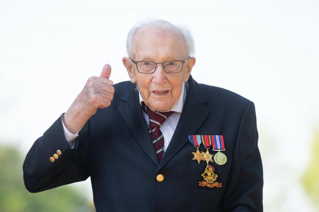 Captain Tom Moore to be knighted - 'a true national treasure'