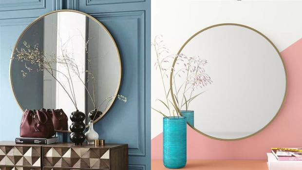 Harwich and Manningtree Standard: A bigger, more modern mirror will create the illusion of more space. Credit: Wayfair