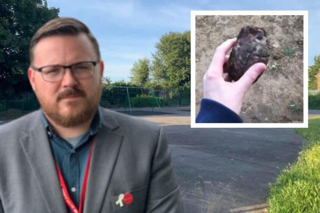 The grenade was found in the Sidmouth Avenue play area in Essex