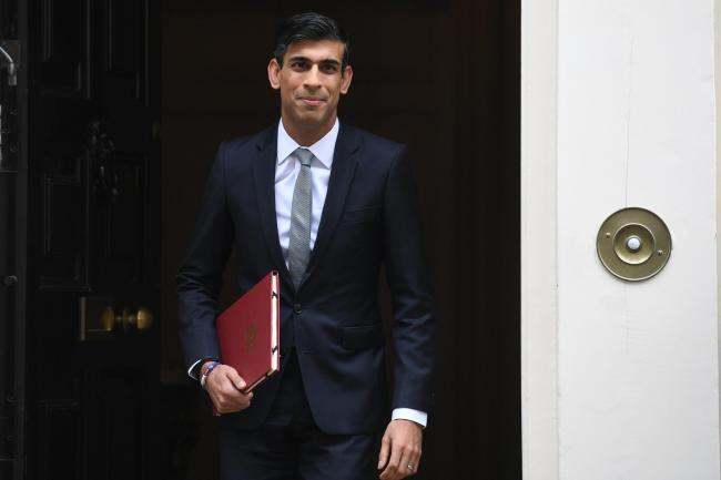 Government - Chancellor of the Exchequer Rishi Sunak departs 11 Downing Street, in Westminster, London, to deliver a summer economic update at the Houses of Parliament.