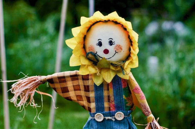 Competition - can you make a showstopping scarecrow?