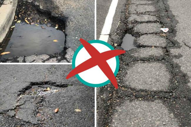 Issues - potholes are a serious problem in Highfield Avenue and The Drive in Dovercourt