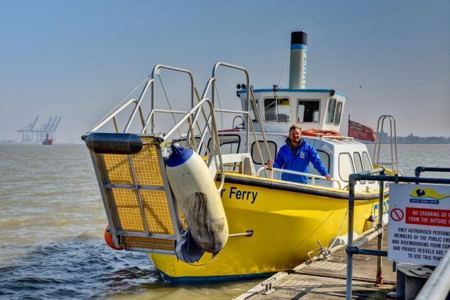 Owners of damaged foot ferry 'devastated' but vow to save historic vessel