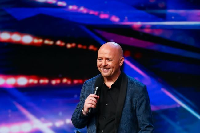 Jon Courtenay on Britain's Got Talent (