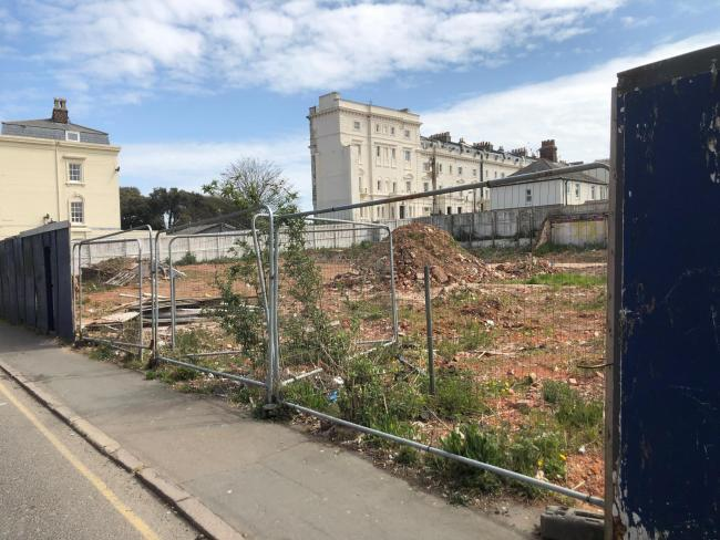 'Please tidy up eyesore site in our town centre,' says councillor