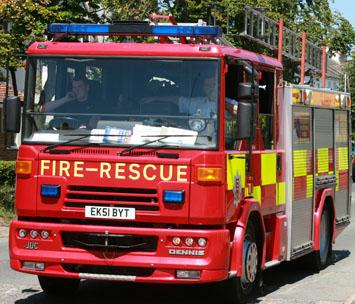 Harwich and Manningtree Standard: Firefighters cal