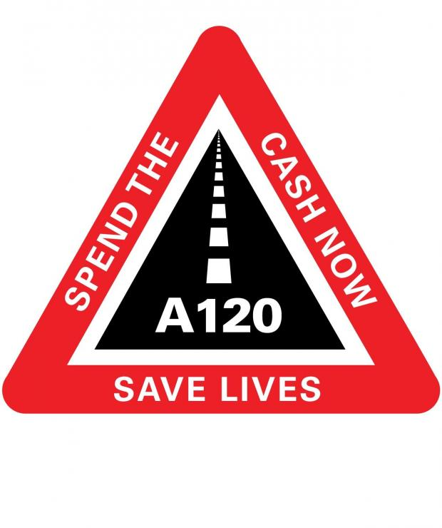 Highways Agency waiting 12 months before A120 action