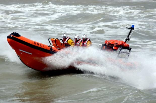 Weekend of call outs for Harwich RNLI