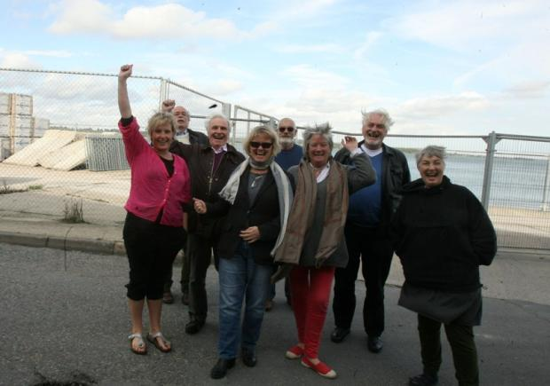 Mistley Quay fence campaigners' joy at planning decision