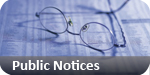 Harwich and Manningtree Standard: public notices classified