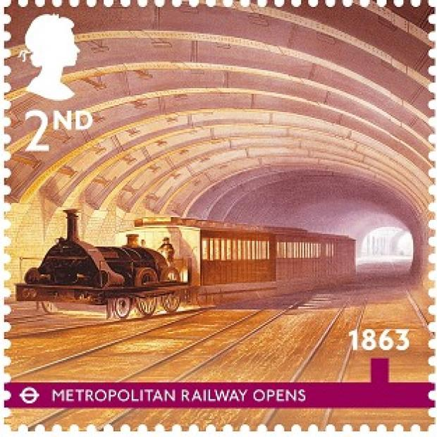 A stamp from the Royal Mail's series of best of British 2013 Special Stamp programme