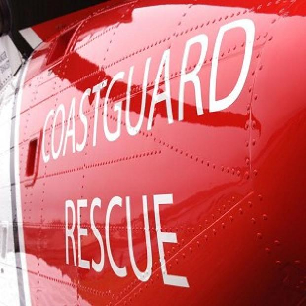 The Coastguard said a tug was damaged by a vessel it was towing off the Devon coast