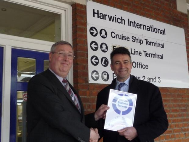 Rail passengers now using award winning stations