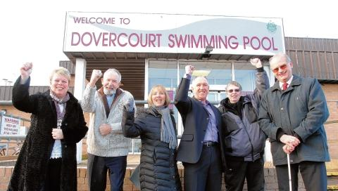 Celebrations as cash to be splashed on pool