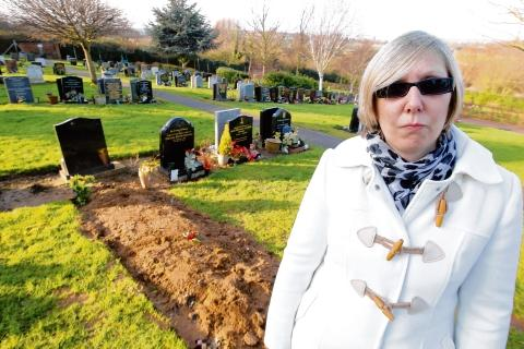 Graveside flowers binned by cemetery workers