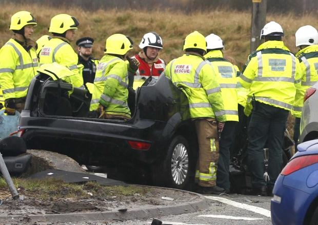 UPDATE: Two taken to hospital after A120 crash
