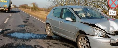 Driver fined after A120 road smash