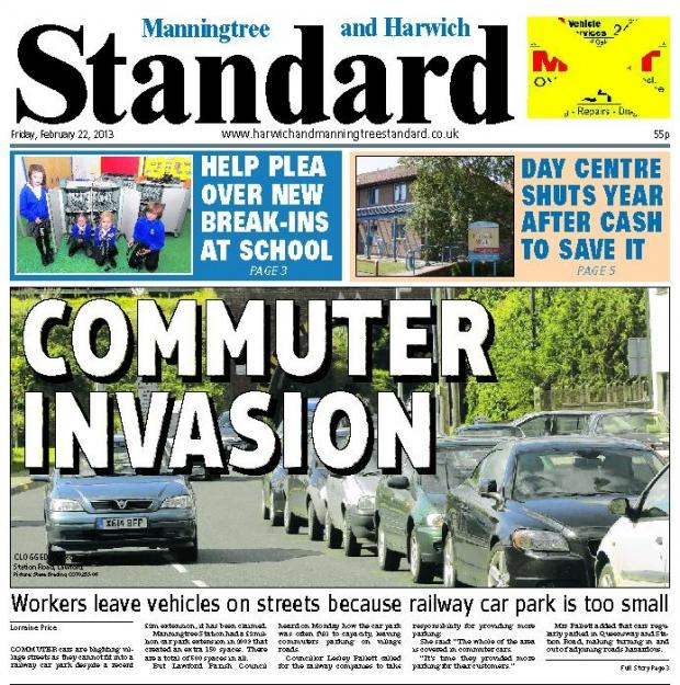 In this week's Manningtree Standard