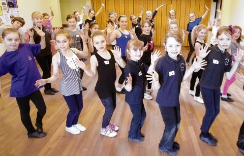 Pupils streets ahead after hip hop lesson