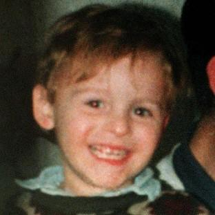 James Bulger, who was murdered in 1993 by Jon Venables and Robert Thompson