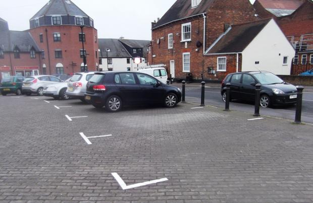 Temporary car park scheme completed