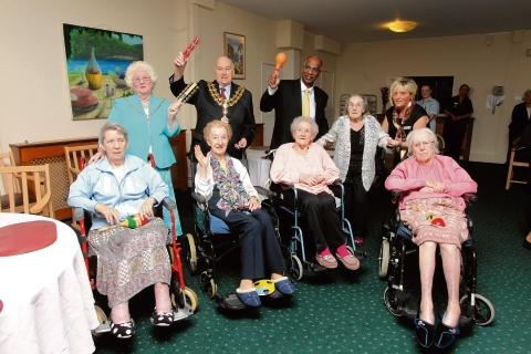 New cafe for care home