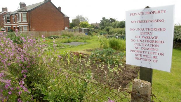 Some allotments saved after negotiations with landlord