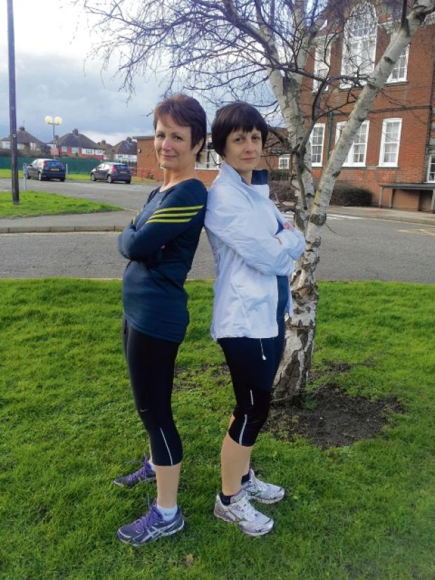 Neighbours become running buddies for marathon