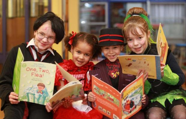 Pupils bring stories to life with fancy dress day
