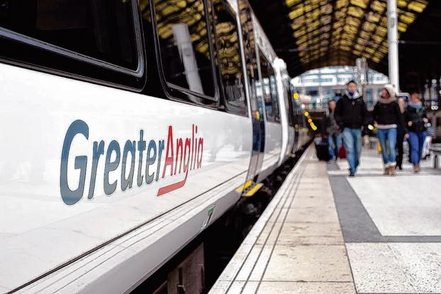 Harwich and Manningtree Standard: Greater Anglia trains delayed after person hit by train