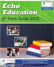 Harwich and Manningtree Standard: Echo Education 6th Form Guide