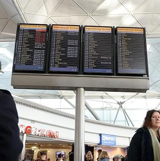 Air passengers faced more travel misery with flights unable to land at Stansted Airport in Essex due to damage to the instrument landing system