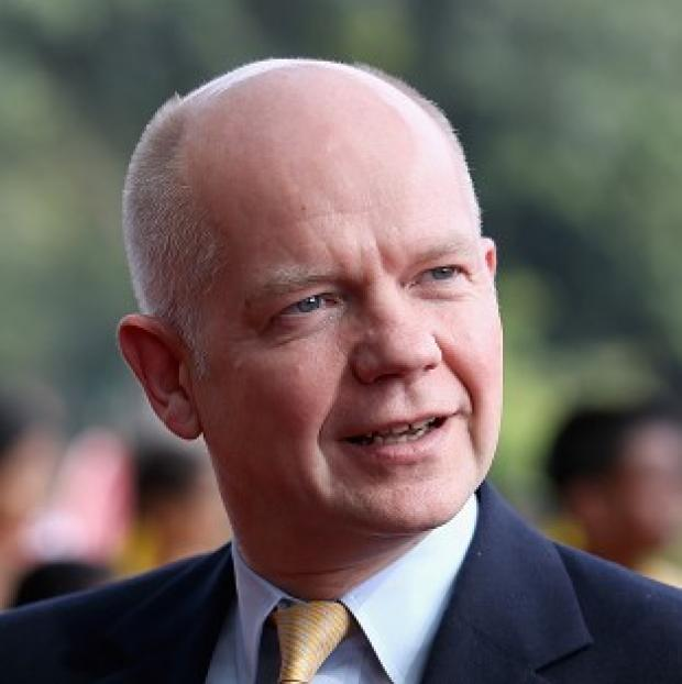 Harwich and Manningtree Standard: William Hague was challenged on 'very disturbing' exports of dual-use chemicals