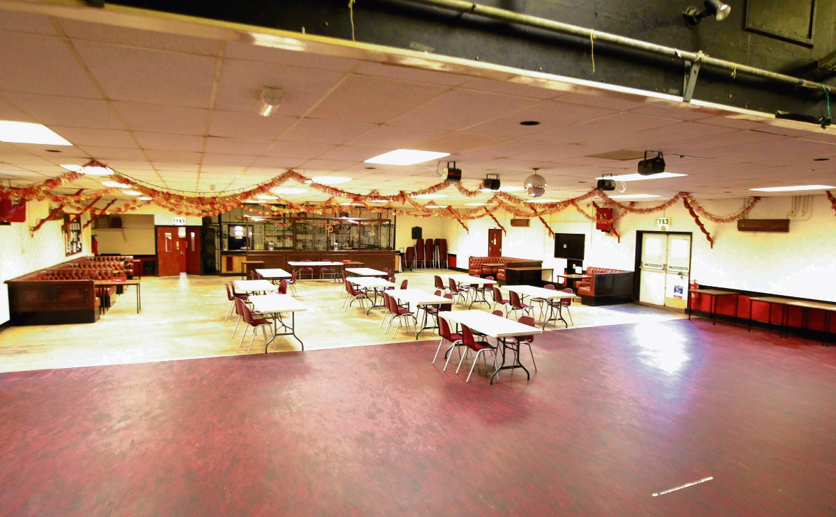 Community hall needs helpful hands in make-over
