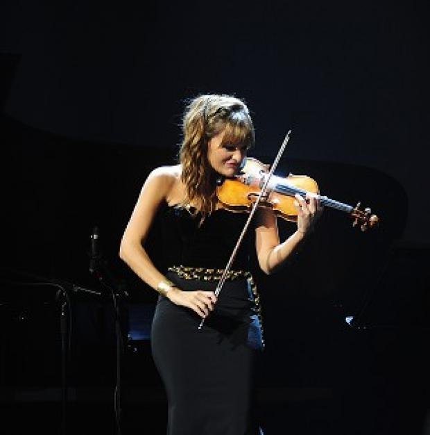Harwich and Manningtree Standard: Nicola Benedetti performs at the Classic Brit Awards 2013.